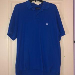 Men's Royal Blue Chaps Polo